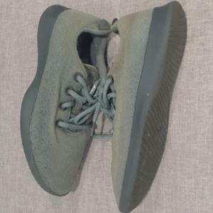 Allbirds wool green sneakers sz 9
